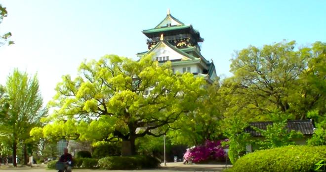 残念石とは何か?自転車で行ってみた大阪城、天守閣の麓に転がる石たち。Osaka Castle Zan-nen Stone?