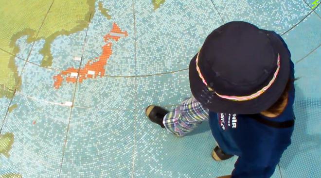 兵庫県西脇市【日本へそ公園】で見つけた宇宙飛行士の手形!Navel of Japan Park in Nishiwaki Hyogo.
