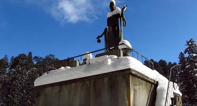 世界遺産・高野山(和歌山県)は雪景色でした!The World Heritage Koyasan in Snow.