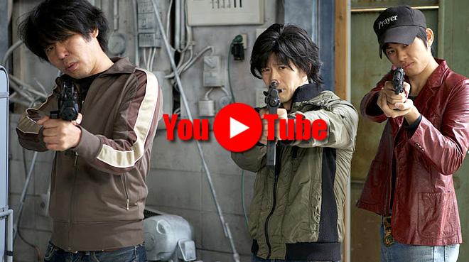 新聞とクルマと男たち。鉄砲バンバン短編映画 Newspaper Standing the Short Film