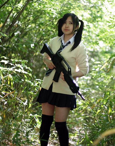 銃撃女子★SGS9 #4 女子高生プレデター Trigger Unhappy? GUN GIRL SGS9