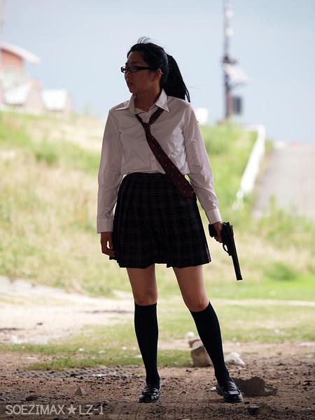 銃撃女子★SGS9 #5 彼女の秘密 Her Secret? GUN GIRL SGS9