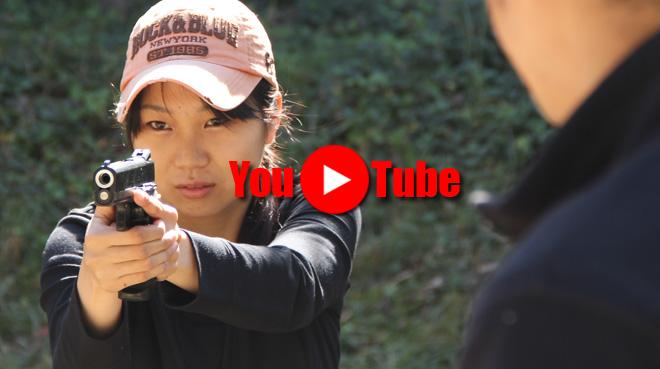 軍曹どうでしょう?#02 女子高生3号ハンドガン射撃シーンに挑戦 How Do You Like SGT?
