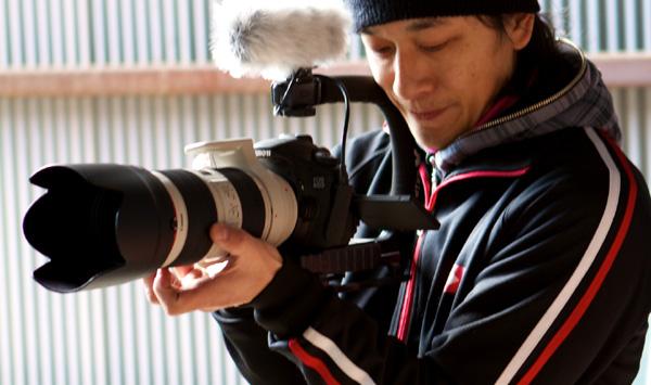 ロケ行ってたよ、岸和田へ。新作のSGS9はデジタル一眼レフ動画で撮影!