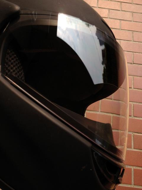 ヘルメット、シールドを新調【OGK テレオス3】クリアな視界で乗り切るぞ!