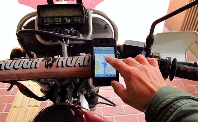 iphone バイク マウント
