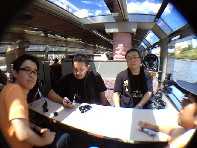 動画編隊と行く中之島クルーズ アクアライナー Tour Osaka River Cruise soezimax