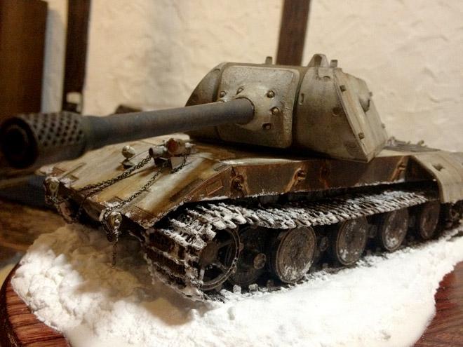 戦車プラモを鑑賞する夜 Tank Plastic model Night