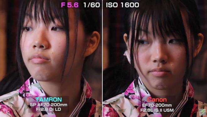 ズームレンズ対決!【CANON EF 70-200mm F2.8 L】vs【TAMRON AF 70-200mm F2.8 Di】暗所の動画撮影での差を実証してみる。