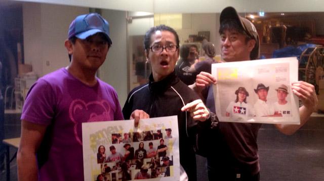 チャック全開で登場する男?TEAM54プロデュース稽古 Rehearsal in ShinKobe.