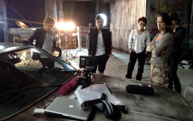 マイナースクールのPV撮影してました。I've filming for the band.