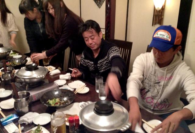 TEAM54プロデュース タケシタさんと三人の男たち。