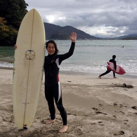 日本海での体験サーフィン! The Surf Trip in Nihonkai sea.