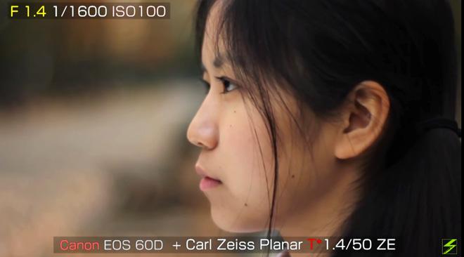 プラナーT* 1.4/50 ZE
