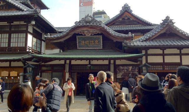 道後温泉本館(愛媛県・松山市)で「千と千尋〜」な気分を堪能!Spirited Away? Dogo Onsen Ehime Japan.