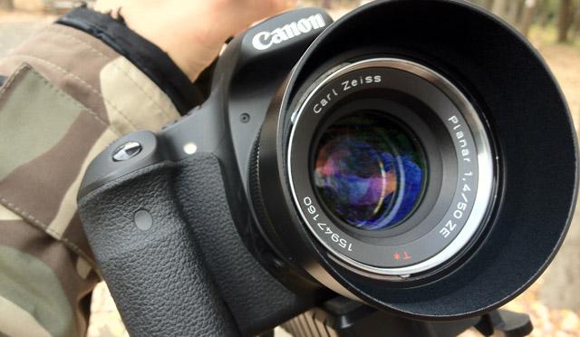 【OPTEKA X-Grip】に7インチモニターを!テスト撮影などをして、冬の公園で怪しいカメラ野郎となってみる。