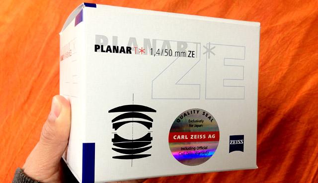 マニアック高性能レンズを買ってしまった!【プラナーT* 50mm F1.4 ZE】マニュアルフォーカスのみの硬派な標準レンズ。