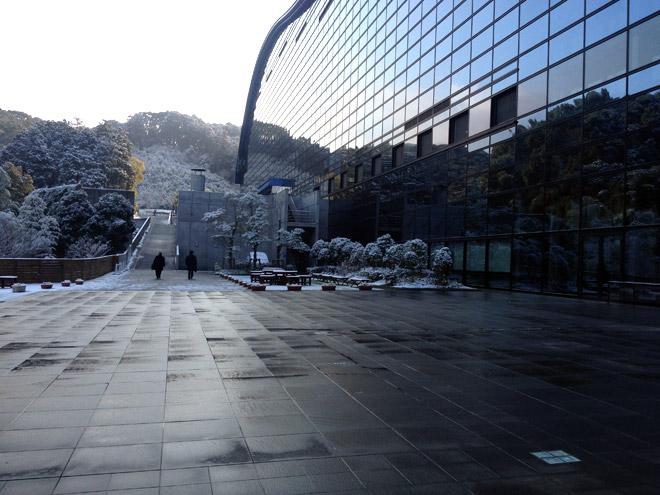 フェリーから太宰府、国立九州博物館へ。National Kyushu Museum in Dazaifu.