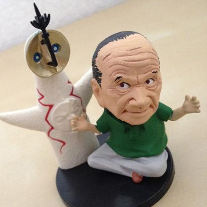 そっくり!岡本太郎アートピース集 光の饗宴 海洋堂カプセルQミュージアム KAIYODO Capsule Q Museum Taro Okamoto