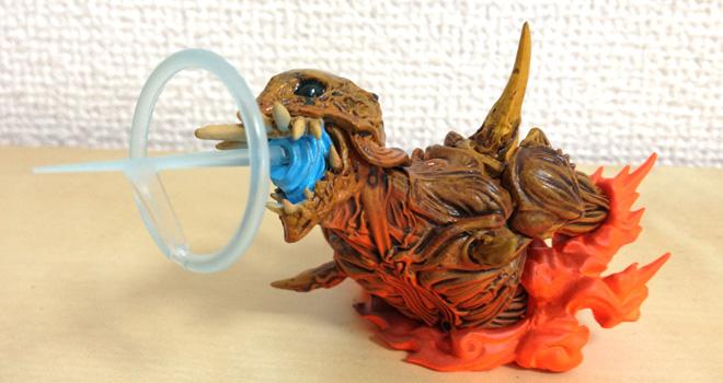 巨神兵、東京に現る!フィギュア 特撮博物館のお土産いただきました。