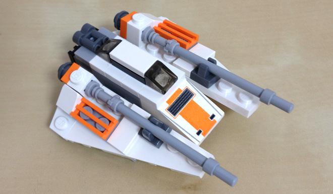 レゴスターウォーズ スノースピーダーとホス LEGO STAR WARS Snow Speeder & Hoth