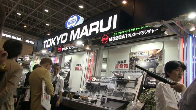 静岡ホビーショー2013速報!東京マルイの新製品 M320A1 と M870タクティカル 試射してきたぜ!Shizuoka Hobby Show 2013 Quick Report.