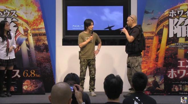 エンド オブ ホワイトハウス公開記念トークショー!アリオ八尾MOVIXにて開催されました。軍曹どうでしょう?#46