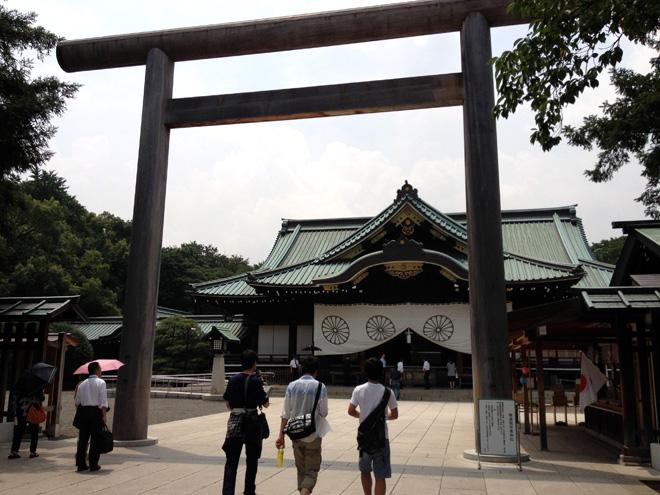 靖国神社、遊就館でゼロ戦をみて「風立ちぬ」を実感する。