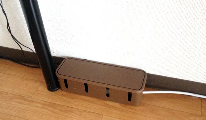 【3 COINS ケーブルボックス】を購入!こいつで電源ケーブルをスッキリさんにするぞ。