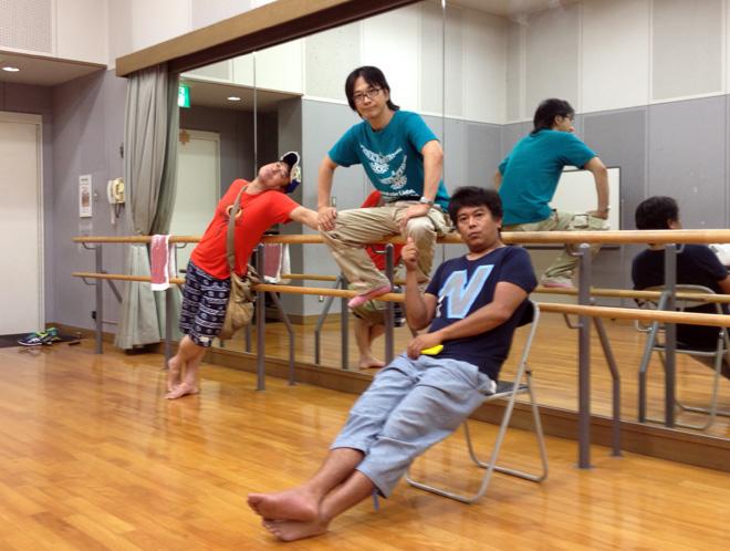 TEAM54プロデュース、暑い夏の稽古であった。