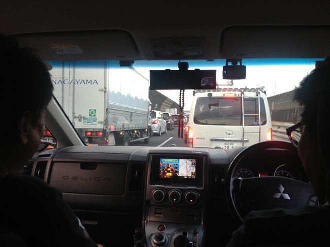東京へ移動だ!新東名高速道路を激走してからのアヒージョ!