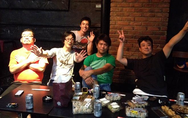 三人の男たち旅に出た!東京公演、無事に終了!Bon Voyage! Finish the tour of theatrical comedy.