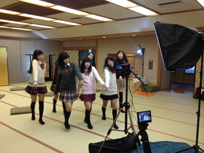 【アイドル育成 #08】 女子高生たちが温泉旅館で撮影だ!大阪★春夏秋冬 #08 OSAKA★SHUKNASHUTO