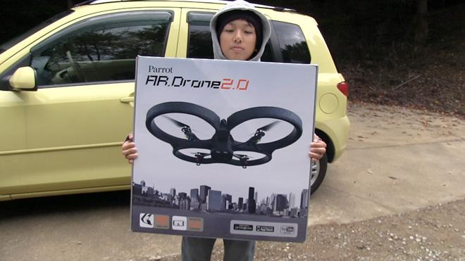 ラジコンヘリでゲームにチャレンジ!ARドローンのカメラを使ったゲームとは?AR Drone Challenge! The game of Radio Control Helicopter.