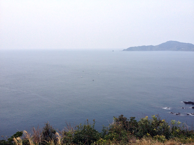 親子バトル発生?長崎・樺島でオオウナギと海に癒される新年恒例行事。Hometown and Giant Eel and Battle?