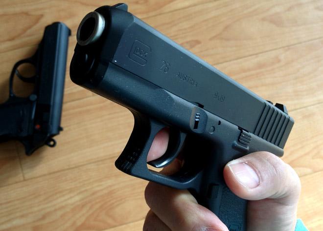 俺的トレポン購入!【東京マルイ】ニュー銀ダン エアガンRFシリーズ ワルサーPPK と Glock G26 結構リアルだよ!