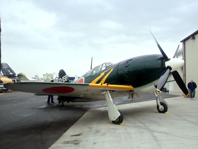 プレーンズ・オブ・フェーム航空博物館:レシプロ機編 太平洋戦争勃発日に行ってきました。PLANES OF FAME Chino California #1