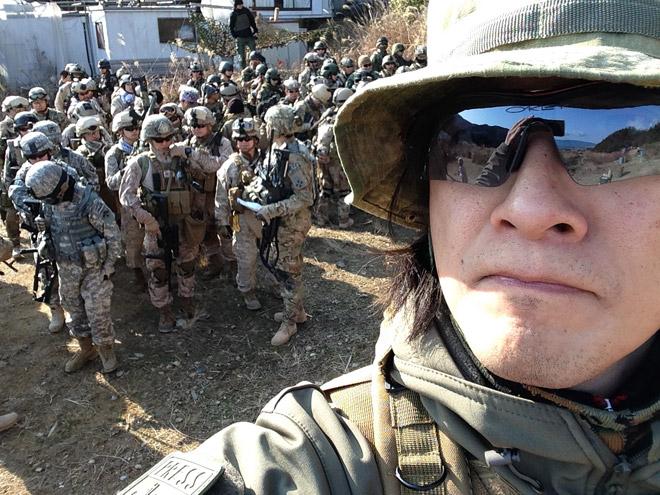モダンミリタリーミーティング2014で、SOEZIMAXステッカーを配る!軍曹どうでしょう?#57