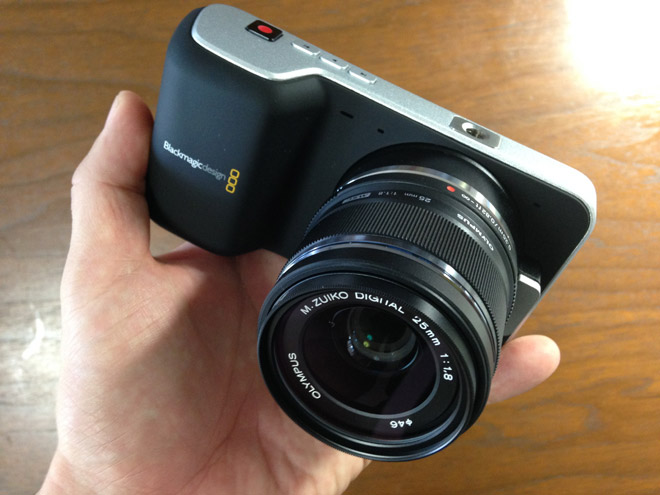 デジタルフィルムカメラBMPCCを買った!【ブラックマジック・ポケットシネマカメラ】で新企画をやる?