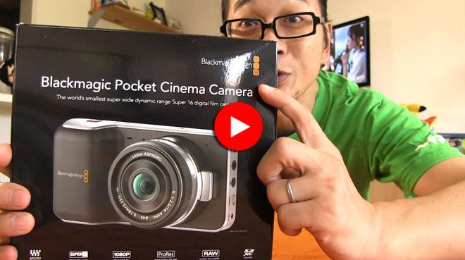 半額セールに飛びついた!でもハードル高いゾっ!デジタルフィルムカメラってヤツはよう。【Black Magic Pocket Degital Film Camera】Review.