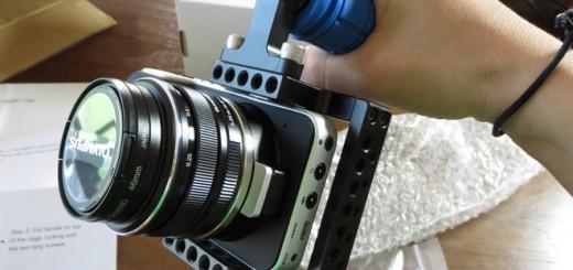 BMPCC カメラケージ