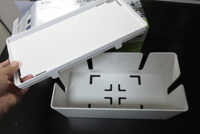 【ケーブルボックス】配線・電源タップを隠す!部屋を整理して見えて欲しくないものを収納してみました。