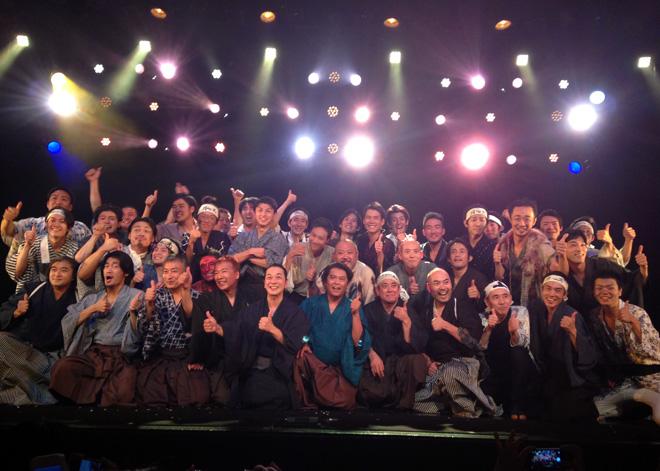 30人を越える男だけの舞台「のらん」大阪&東京公演が無事に終わる。そして公演DVDを販売開始!TEAM54プロデュース初のコメンタリーを収録!