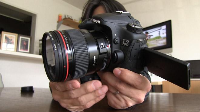 APS-Cサイズには35mmレンズが最適?【キヤノン EOS70D + EF 35mm F1.4L】で動画撮影テストしてみた。Test EOS 70D with EF35mm F1.4L lens.