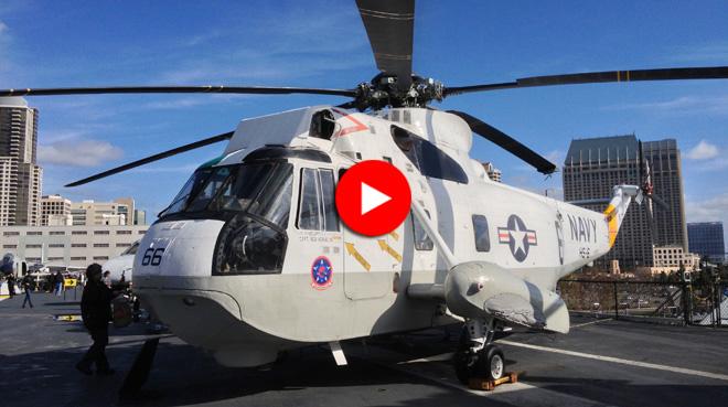 ヘリコプターを見て、お昼ご飯も食べて、空母の中枢部へ移動だぜ。ミッドウェイ博物館はまだまだ続く。