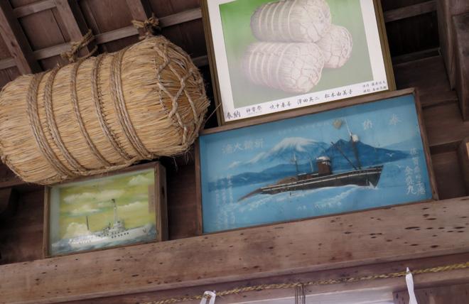 日本最古のダイオラマを発見?【美保神社(島根県松江市)】に参拝!奉納された額は立派なダイオラマ!戦前の造形魂を感じた文化遺物であった。