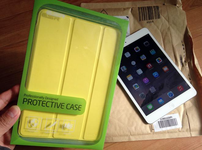 iPad mini Retina 購入!ケースも必要ってことで【スマートカバー&スマートケース イッピーカラーシリーズ】を購入!