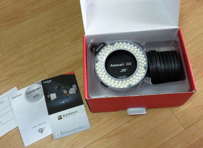 Aputure Amaran LED 100球 リングライト HC100