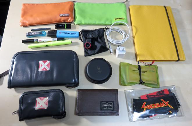 【PILOT STYLE CHOICE】マルチポーチを購入。インナーバッグに持ち歩きアイテムをまとめて便利にしてみたぞ!