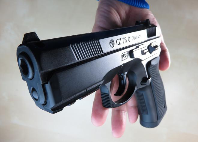 チェコの名銃にコンシールドモデルが?【CZ75D コンパクト】ASG ガスガン